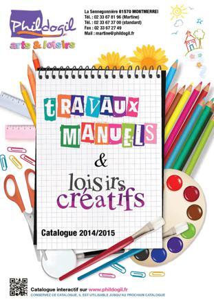 catalogue loisirs créatifs