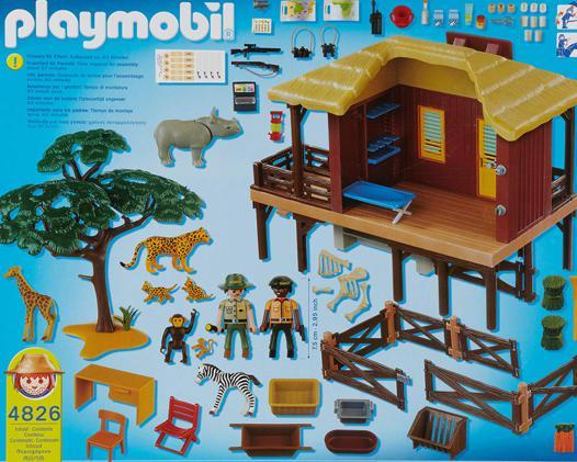 centre de soins pour animaux sauvages playmobil