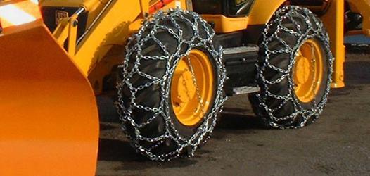 chaine neige tracteur