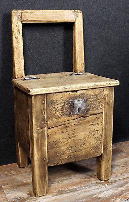 chaise coffre