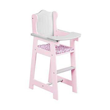 chaise haute poupon bois