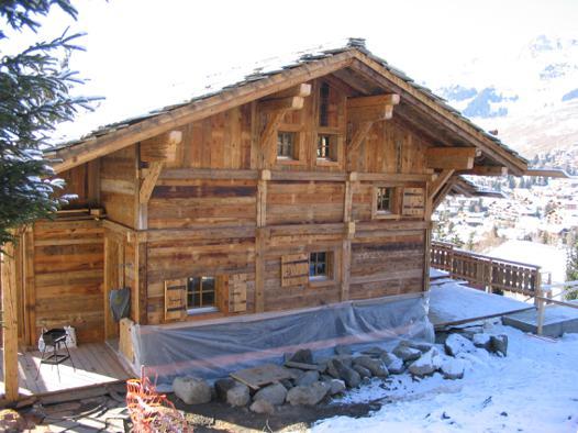 chalet suisse en bois