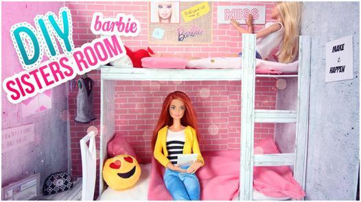 chambre pour barbie