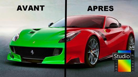changer couleur voiture