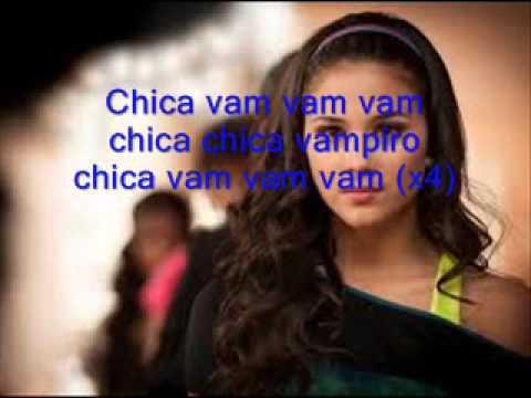 chanson de chica vampiro