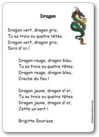 chanson du dragon