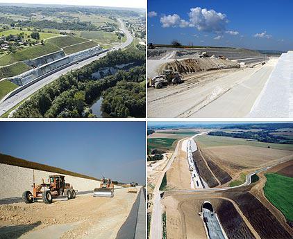 chantier travaux publics