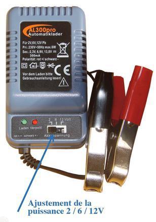 chargeur de batterie 6 volts