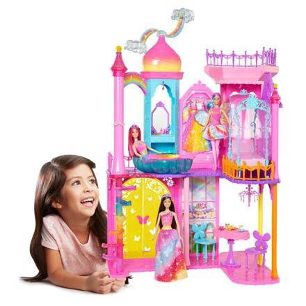 chateau barbie mattel