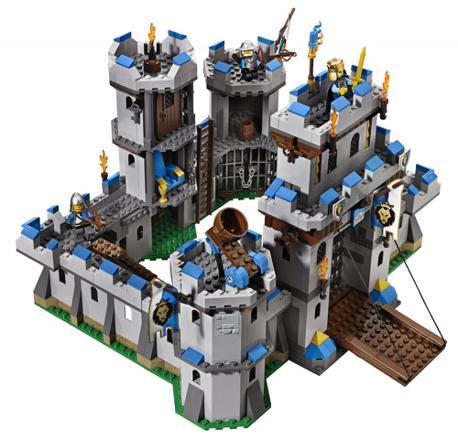 chateau fort en lego