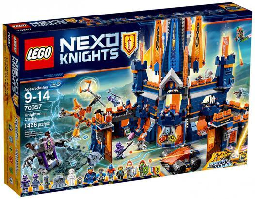 chateau nexo knights lego