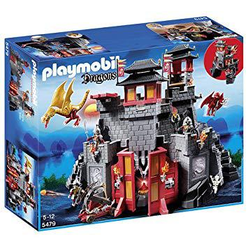chateau playmobil dragon