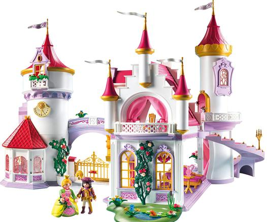 chateau playmobil fille