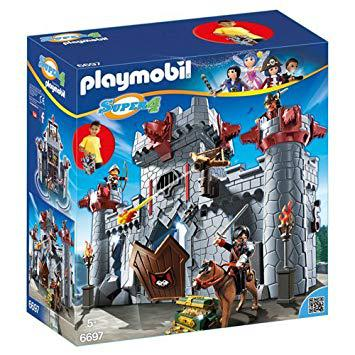 chateau playmobil transportable