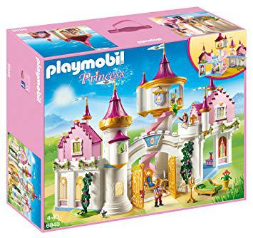 chateau princesse playmobil 6848
