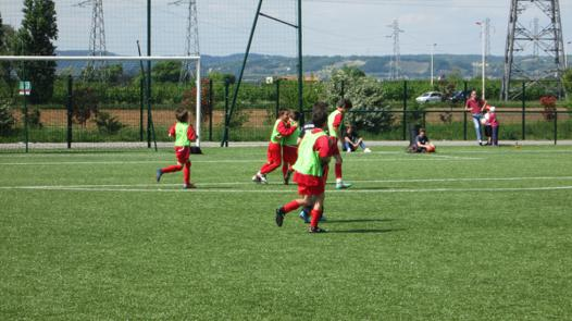 chateauneuf sur isere foot