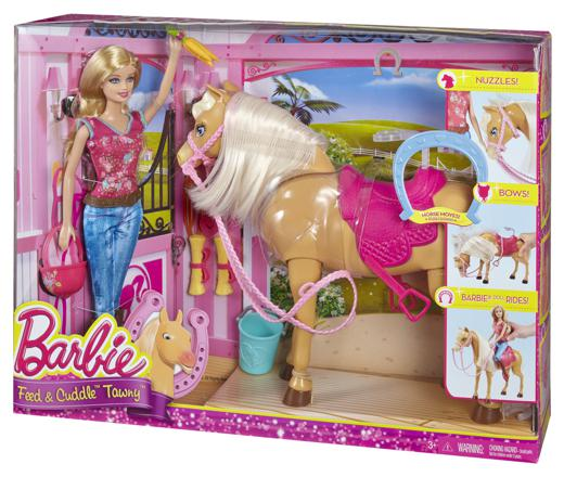 cheval articulé barbie