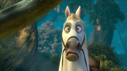 cheval de raiponce