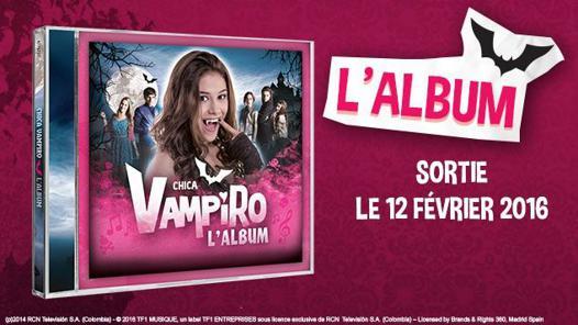 chica vampiro musique