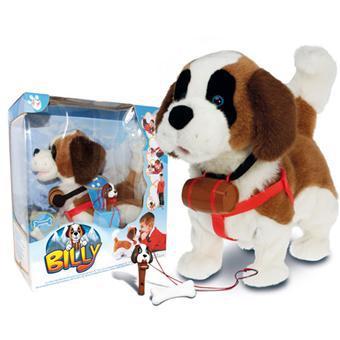 chien peluche interactif qui marche