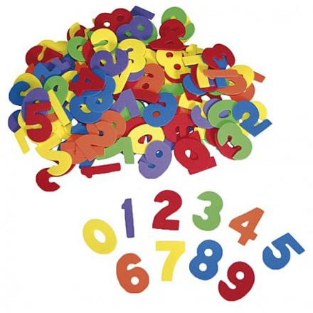 chiffre couleur
