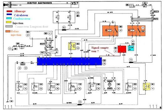circuit électrique automobile