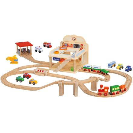 circuit en bois train