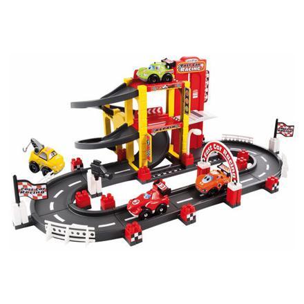circuit garage jouet