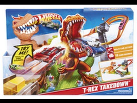 circuit hot wheels dinosaure