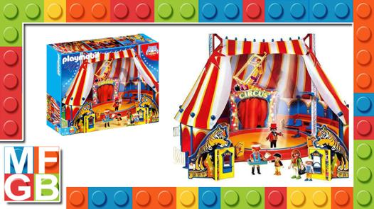 cirque playmobil 4230