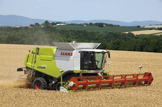 claas moissonneuse