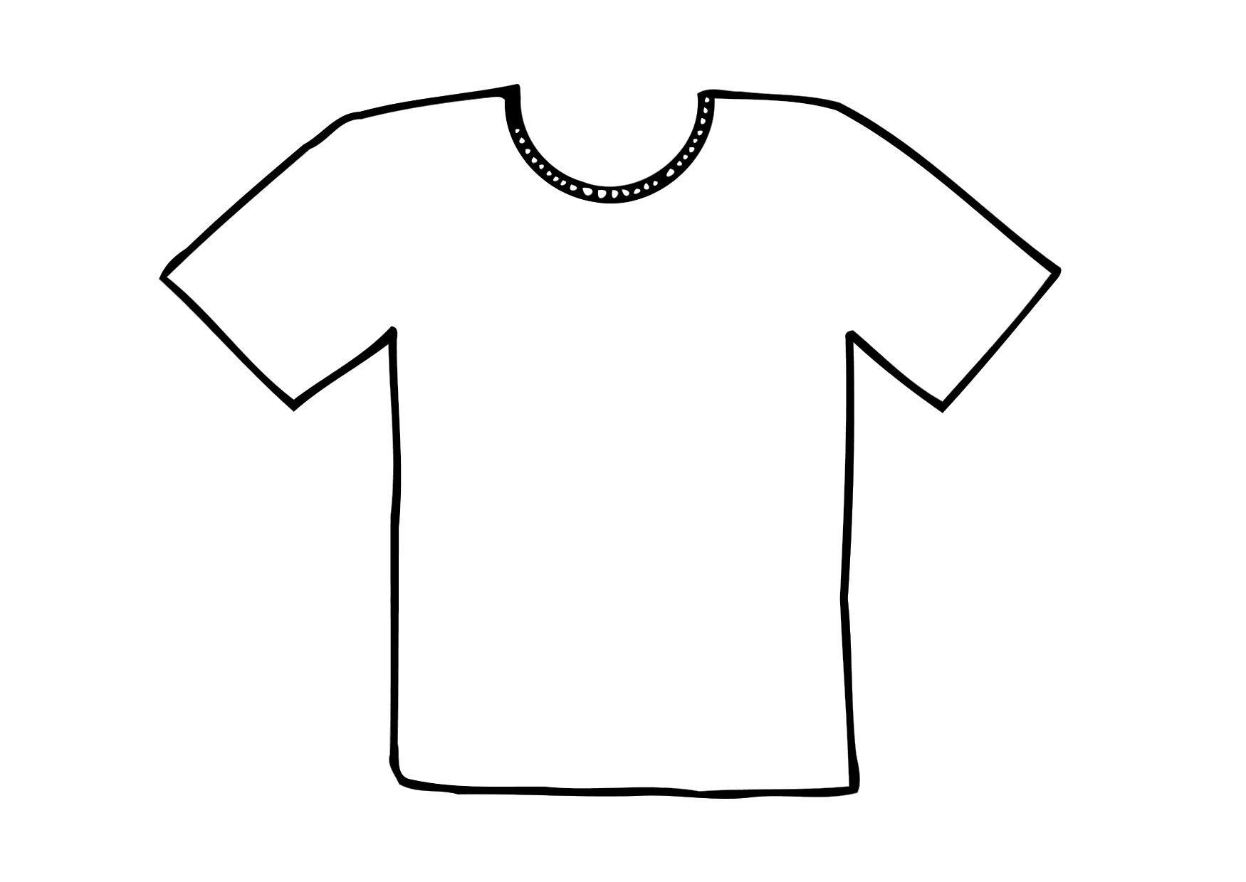 coloriage t shirt