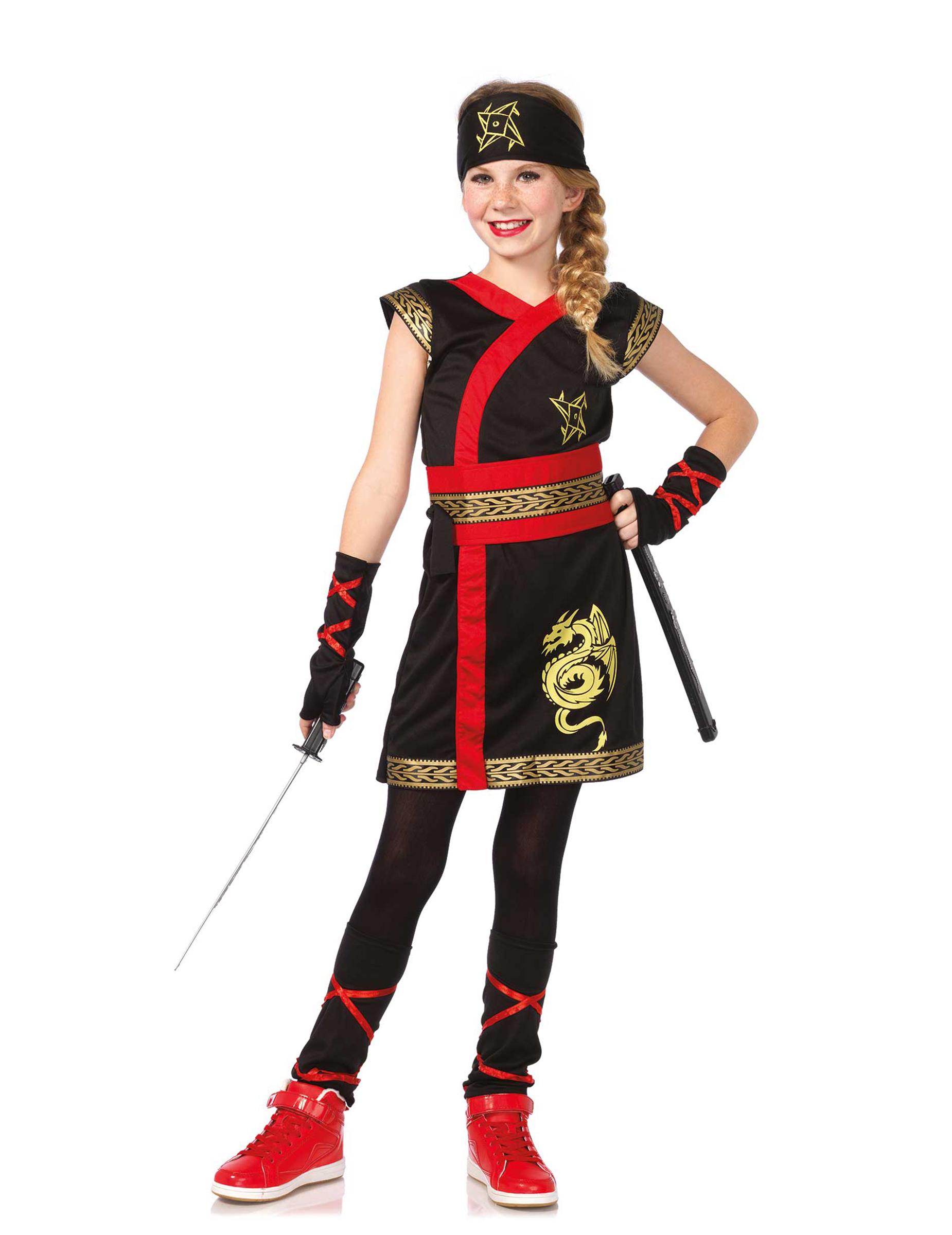 deguisement ninja fille