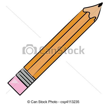 dessin animé crayon