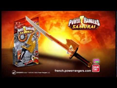 épée de power rangers