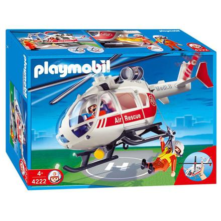 helicoptere secours playmobil