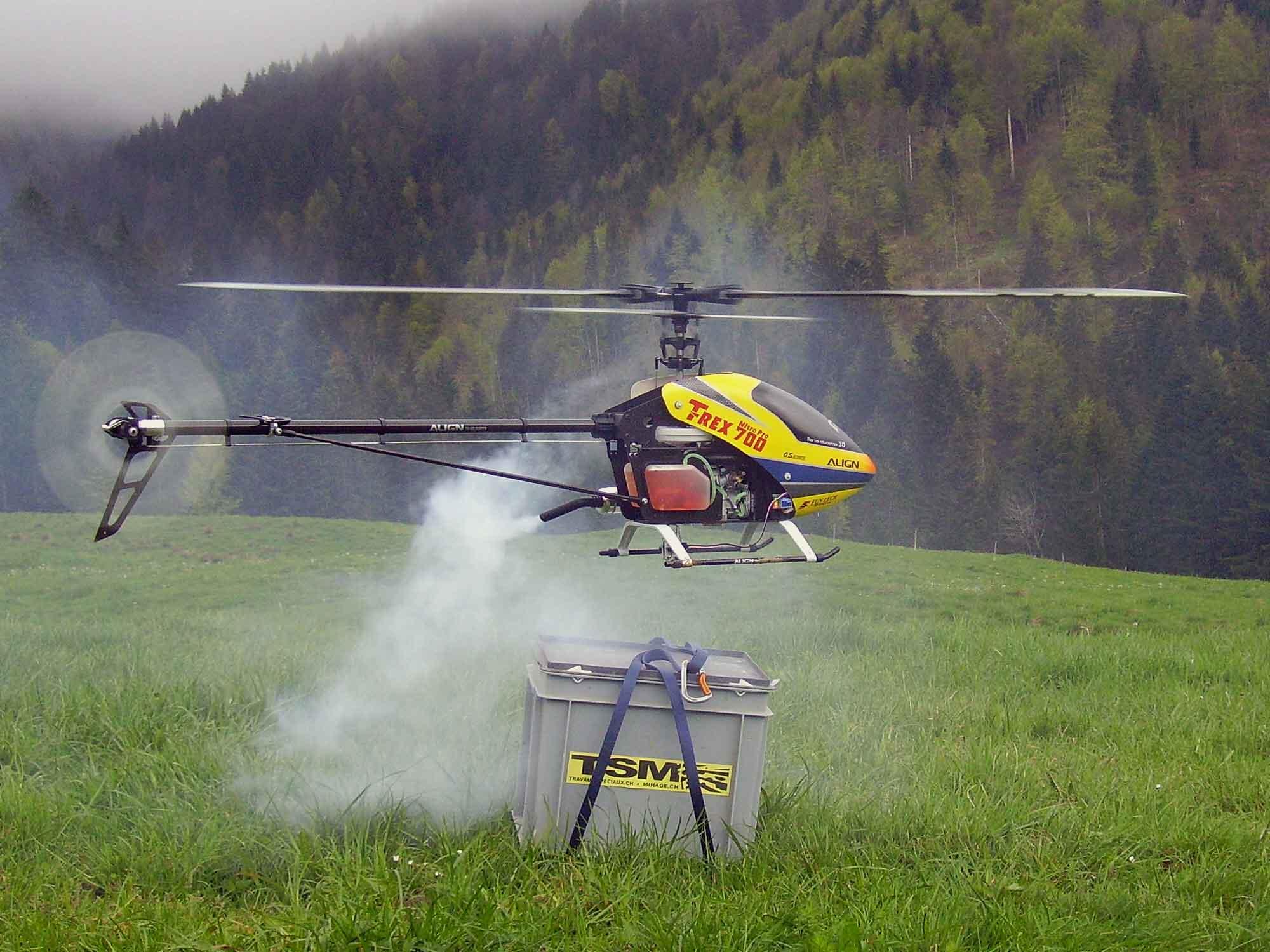 hélicoptères télécommandés
