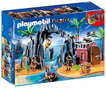 ile aux pirates playmobil