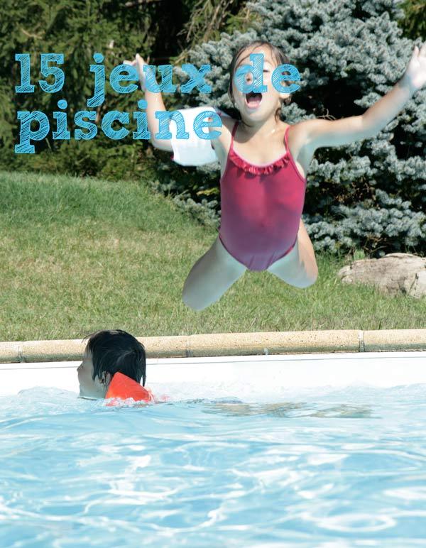 jeux de fille dans la piscine