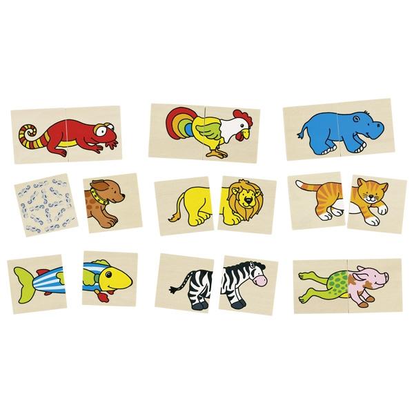 jeux de puzzle animaux