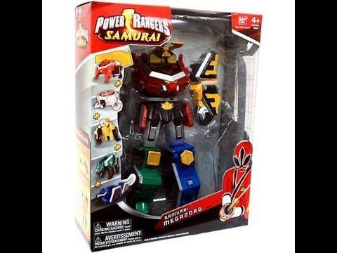jouet power rangers samurai