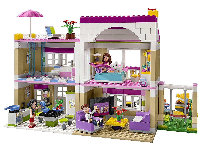 la maison d olivia lego friends