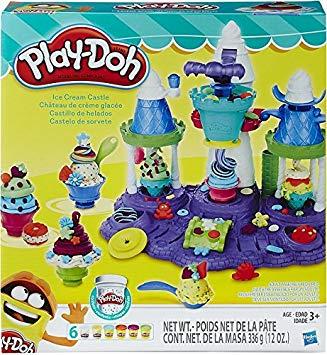 le royaume des glaces play doh