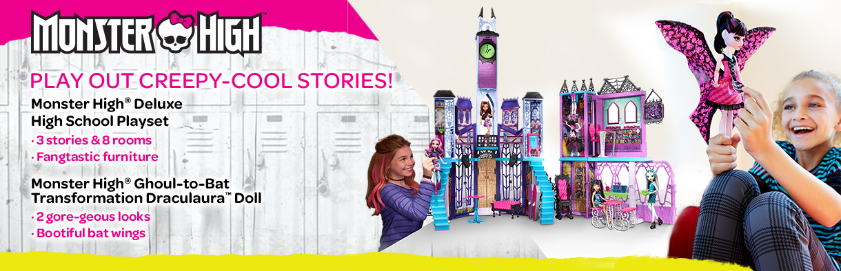 mattel shop monster high