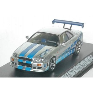 nissan skyline fast and furious miniature