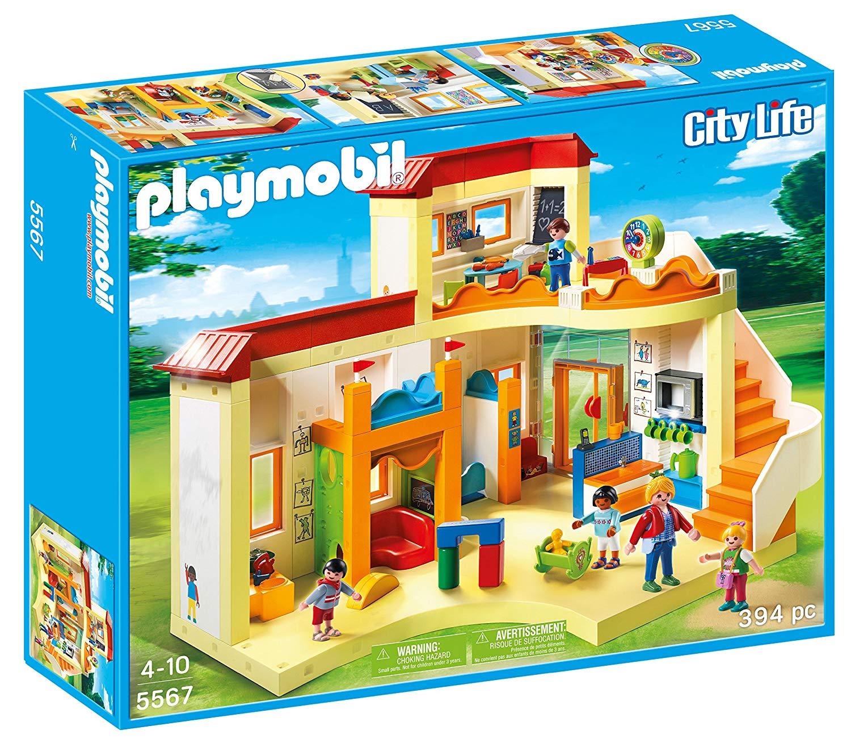 playmobil garderie