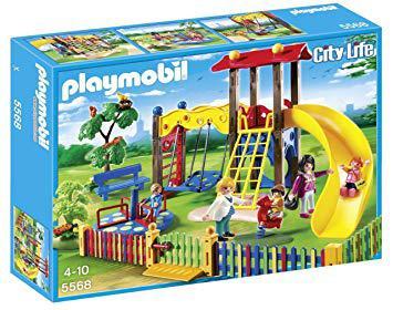playmobil square de jeux