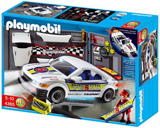playmobil voiture course