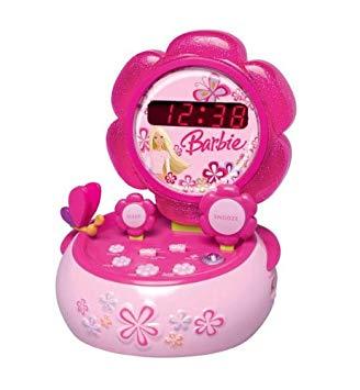 radio reveil barbie