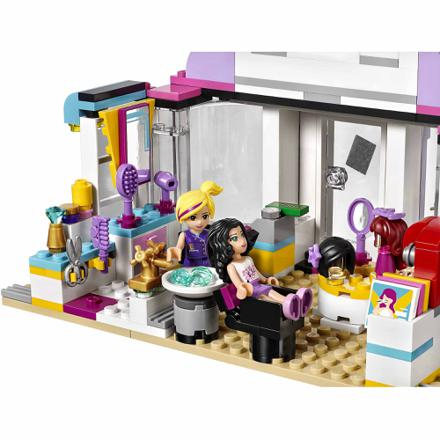 salon de coiffure lego friends